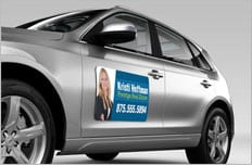 Labels  Magnets Print Three Sheraton Centre - Custom magnets for cars   promote your brand
